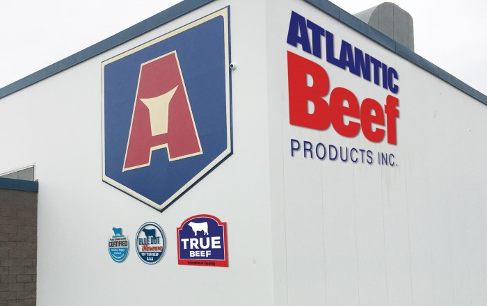 Atlantic Beef Products Inc. recognized as a Certified Sustainable Processing Operation